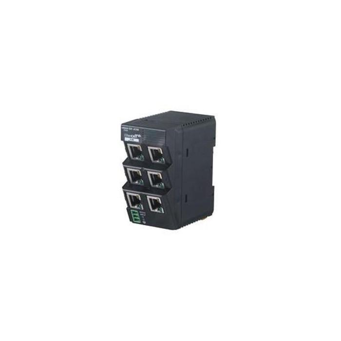 Gx Jc06 Omron Ethercat Branching Unit 6 Port 24vdc Supply